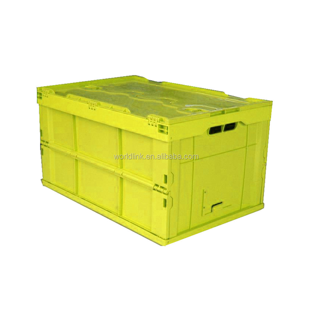 Top Quality Collapsible Storage Foldable Clear Plastic Bin