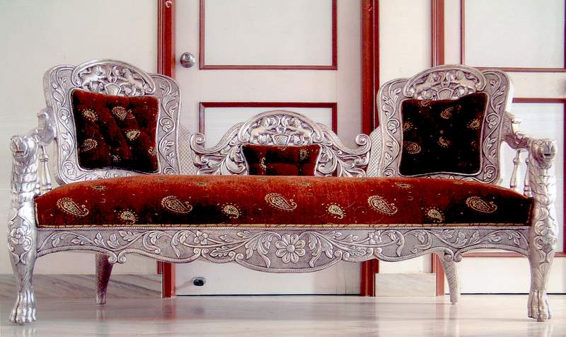 The Royal Victorian Sofa Set (silver Furniture)   Buy Sofa Set Product On  Alibaba.com