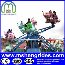 Garden Decoration Amusement Products Big Size Elephant with FRP Material