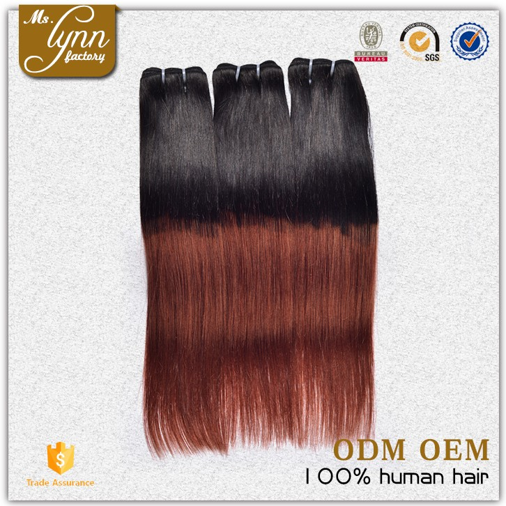 Hot selling Brazilian Color 350 Hair Weave