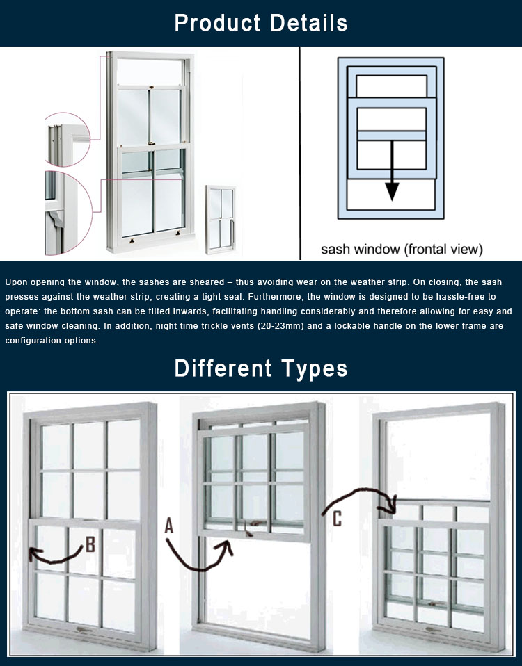 Alibaba Germany Hardware Vertical Sliding Glass Window Lift Up Down Sash Window