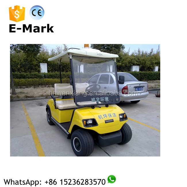 Electric 4-wheel 4-seater golf club car, mini electric golf cart for sale