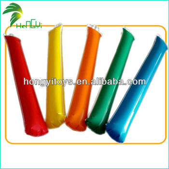 Hot Selling Frighting Inflatable Balloon Stick Clappers