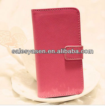 Stand PU case for iphone 4/4s with wallet
