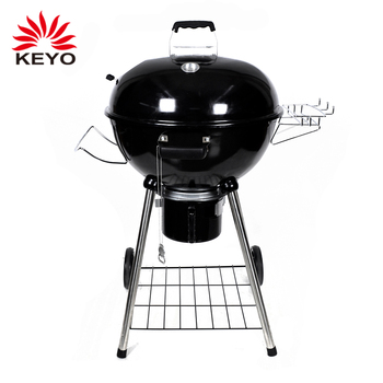 apple shaped outdoor stainless steel leg trolley barbecue charcoal grills  Original Kettle 22-Inch Charcoal Grill