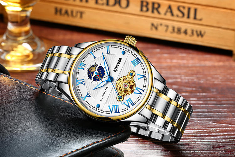 Hot sale oem watch online shopping quick shipping watches men luxury brand automatic mechanical wristwatches