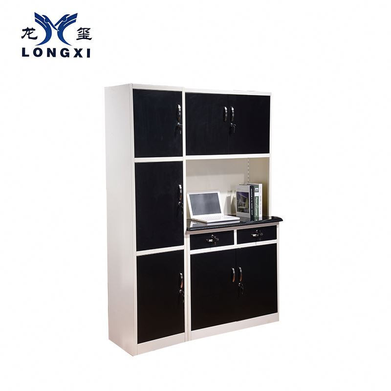 Drawers plastic furniture kitchen cabinet set