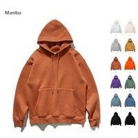 OEM Wholesale many colors plain blank hoodies with no labels for men