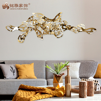 Home Decoration Accessories Modern Metal Sculpture Art And