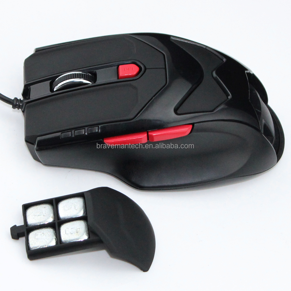 Pro Gaming System Hardware Gamer Mouse with PAN3509 Sensor