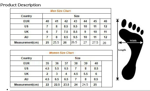 Euro Shoe Size  Conversion To Uk