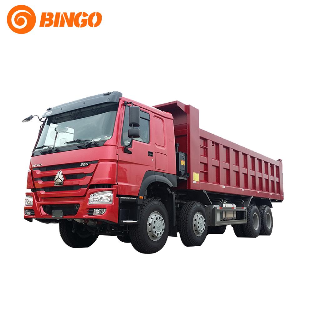 SINO TRUCK Howo 8x4 Tipper Truck ZZ3317N3867W(id:5018787