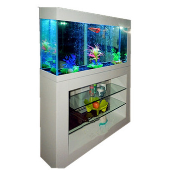 room furniture cupboard with glass aquarium fish tank for hotel KTV bar decoration, office decoration aquarium fish tank