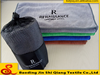 Mesh bag packing microfiber sports towels with logo , gym towel custom logo