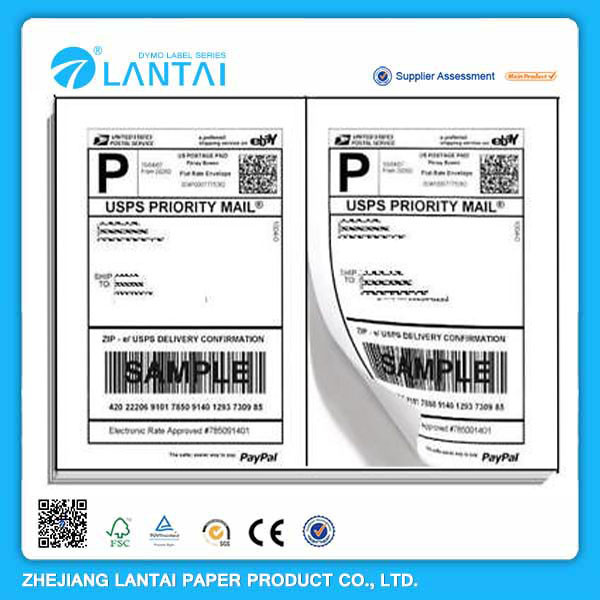 OEM thermal adhesive a4 address label