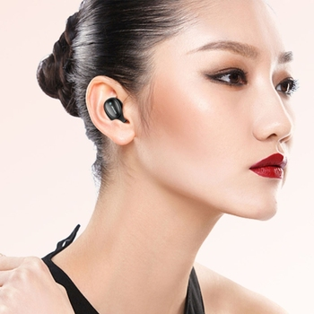 Black IPX4 awei T5 Outdoor Sports Stereo Noise Reduction B V5.0 Headset Earphone with Charging Cabin