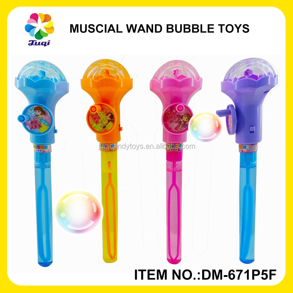 2015 W/Light/Music Bubble Toy Magical Wand New Hot Toy 2016