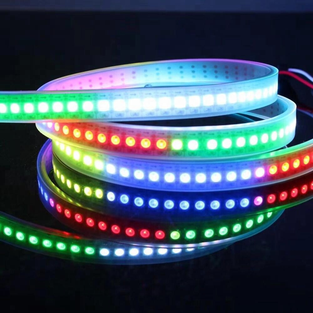 144 <strong>leds</strong> per meter 1m per roll digital ws2812b <strong>led</strong> strip with factory price