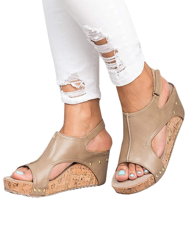 cher toe boucle boucle sandales, sandales porte porte sandales sur la ligne au pied 9fcc78