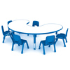 Ergonomic children table chair kid furniture