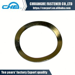 High Quality type of lock washers standard titanium wave spring washer