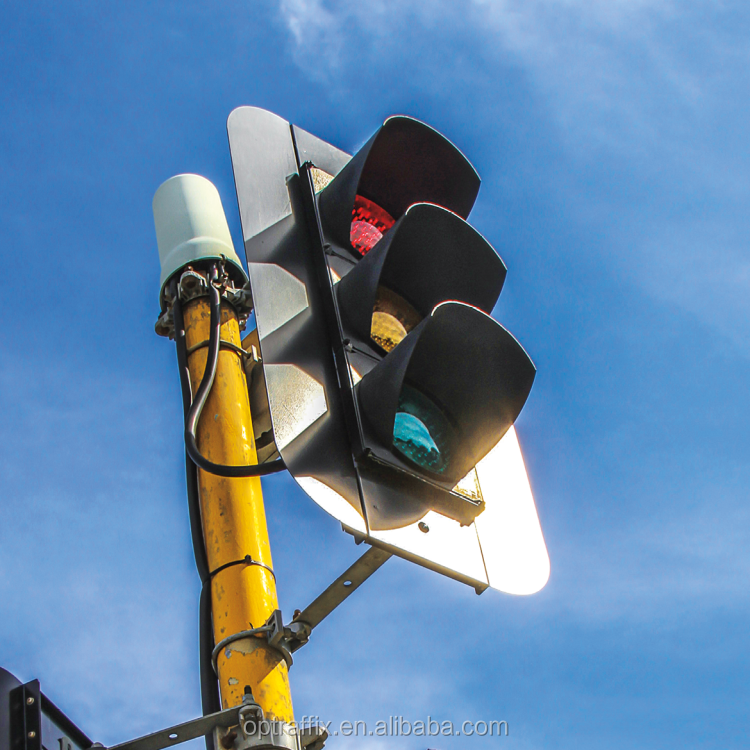 How Blinking Red And Green Portable Led Eagle Four Way Traffic