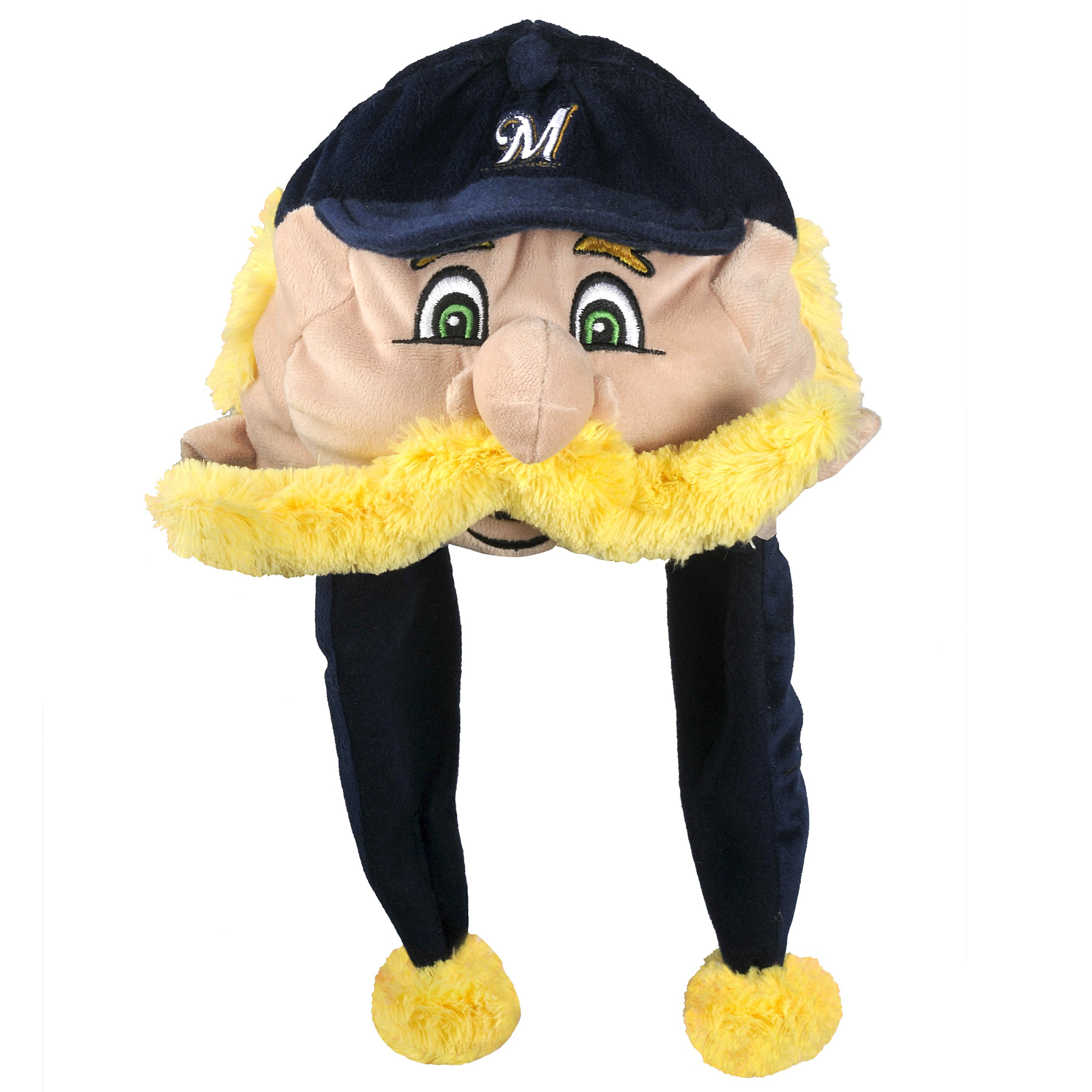MLB Milwaukee Brewers Thematic Mascot Dangle Hat- Sausage #1, Bratwurst