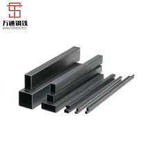 Good Quality Black Weld Steel Pipe Square Steel Pipe ERW Carbon Mild Steel Pipe Price