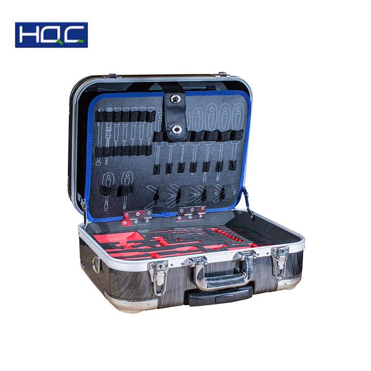 Duitsland Ontwerp custom aluminium dozen professionele tool case huishoudelijke tool box set