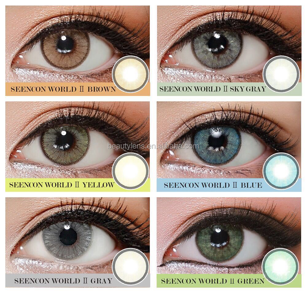 Wholesale Natural Eye Contact Lens Cosmetic Makeup Color ...