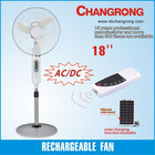 Oscillating With Rechargeable Fan Multifunctional Solar Rechargeable Oscillating Cool Fan With High Quality