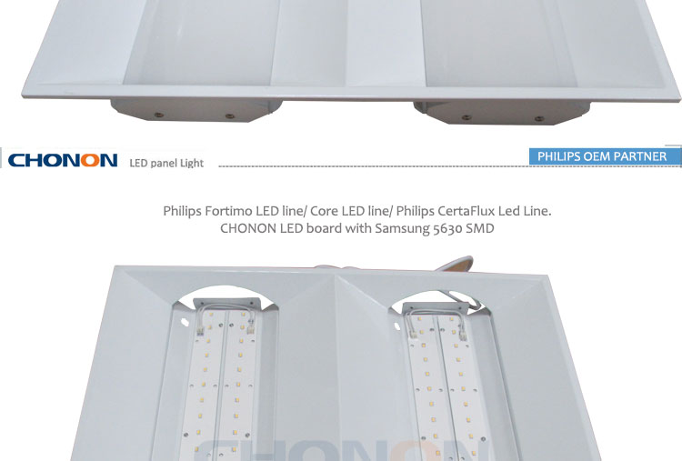 Recessed Etl Cetl Dimmable Led Panel 33w 2x2 Led Troffer Light ...
