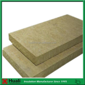 Heat insulation high density mineral rock wool board for for Mineral wool density