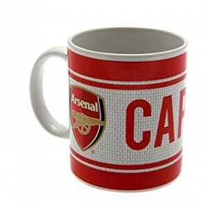 "Official ARSENAL FC Red ""CAPTIAN"" Ceramic Mug"