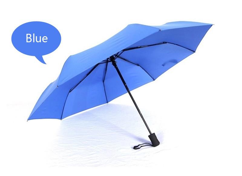 d989438c8e Business Men Women Automatic Folding Umbrella Compact Super Windproof  Anti-UV Rain Sun Umbrella Women Men Tri-folded Umbrella - us188