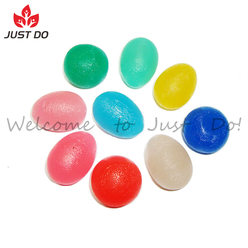 Fitness Hand Therapy Egg Shape Exercises Squeeze Ball