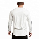 Dry Quick High Quality Wholesale Clothing Long Sleeve Slim Fit Fitness Cheap Sport T Shirt Men