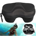High Quality Black Micro Fiber Diving Mask Scuba Glasses Case Box Protector Diving Swimming Glasses Safety