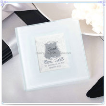 Wedding Guest Gifts Elegant White Square Cup Mat