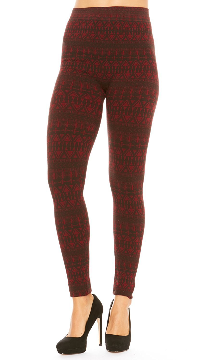 88d5d983b2201 Get Quotations · Just One Women's Leggings Winter Warm French Terry Ultra  Soft Cotton Blend Solid Seamless, 1