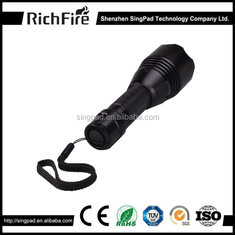 2018 hot sale led focus hunting lights flashlight tactical torch for rifle