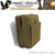 Military left hand pistol holster camping tactical waist legs bag