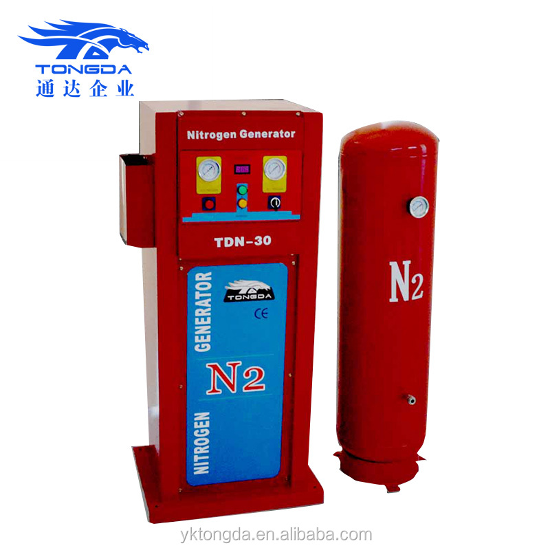 2017 gas nitrogen Tongda TDN-30 high purity Nitrogen generator for sale