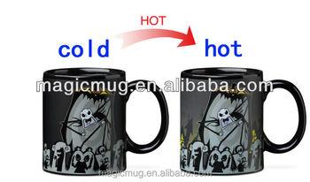 nightmare before christmas mugs heat sensitive mug