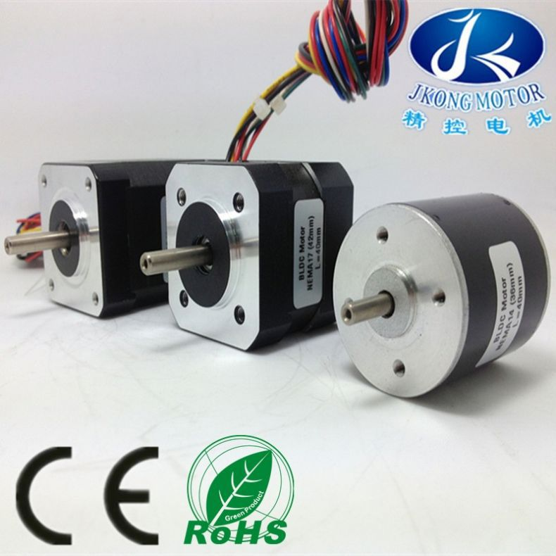 42mm high torque brushless dc planetary gear motor with electric brake