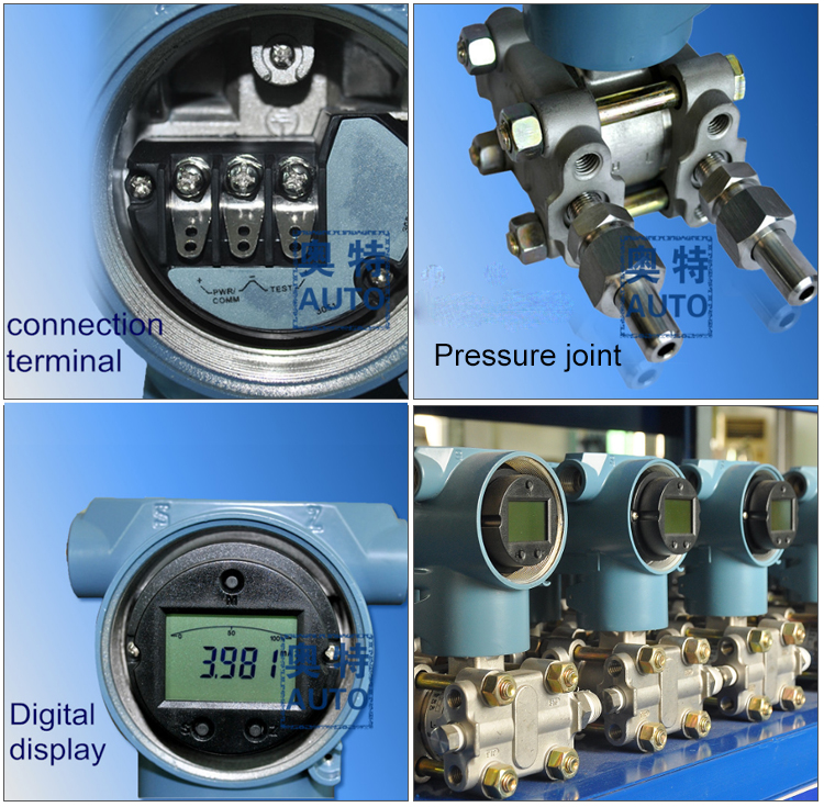 High Performance differential pressure transmitter measure gas liquid level/density and pressure