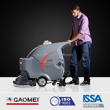 Hard Floor Cleaning Gm50b Tile Floor Scrubber Machine With Mwr