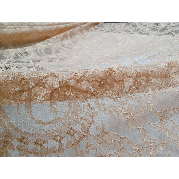 MOQ 15 Factory Direct Sales Soft Luxury Eyelash French Lace Fabric