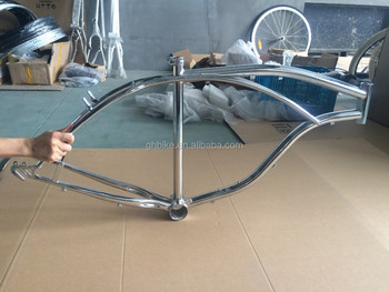 bicycle frame chrome bike frame set