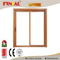 Made in China famous factory security screen aluminum sliding door,tempered glass sliding door